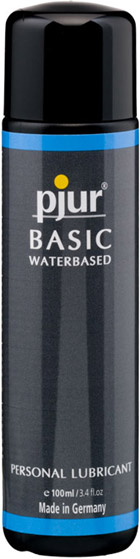 pjur Basic lubricant - 100 ml (water based)