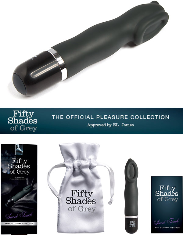 Fifty Shades of Grey - Sweet Touch Mini Klitoris Vibrator