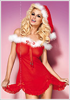 Obsessive Heartbell Christmas Babydoll (L/XL)