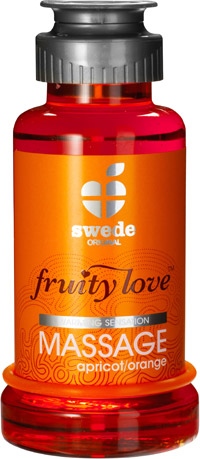 Lotion de massage Fruity Love - Abricot & orange - 100 ml