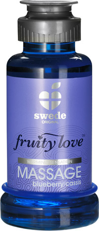 Lotion de massage Fruity Love - Myrtille & cassis - 100 ml