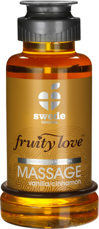 Fruity Love Massagelotion - Vanille & Zimt - 100 ml