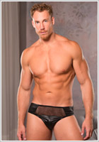Allure Lingerie Devilish briefs for men - Black (L/XL)