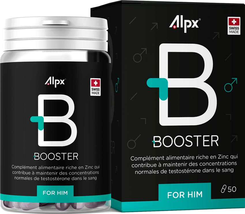 Alpx Booster - Stimulant & erection booster - 50 capsules