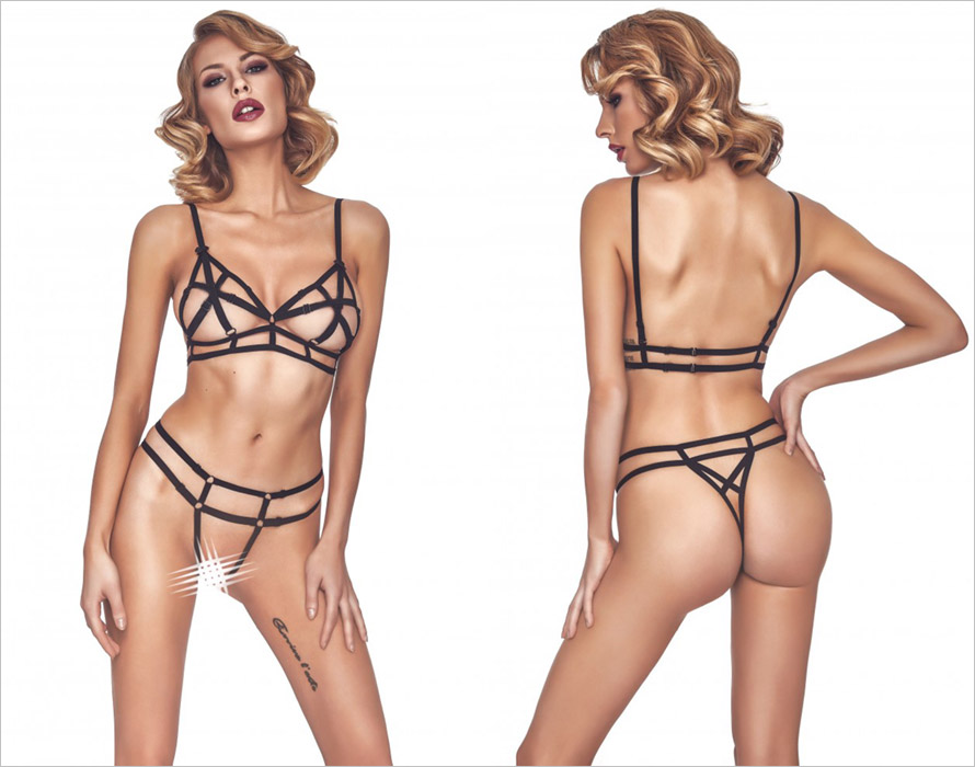 Anais Echo Set - Black (M)