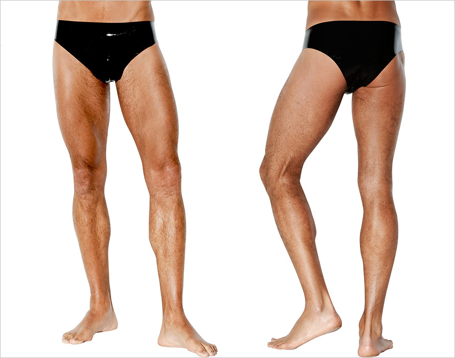 Avanza Latex Slip for men - Black (M)