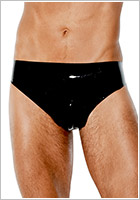 Avanza Latex Slip for men - Black (S)
