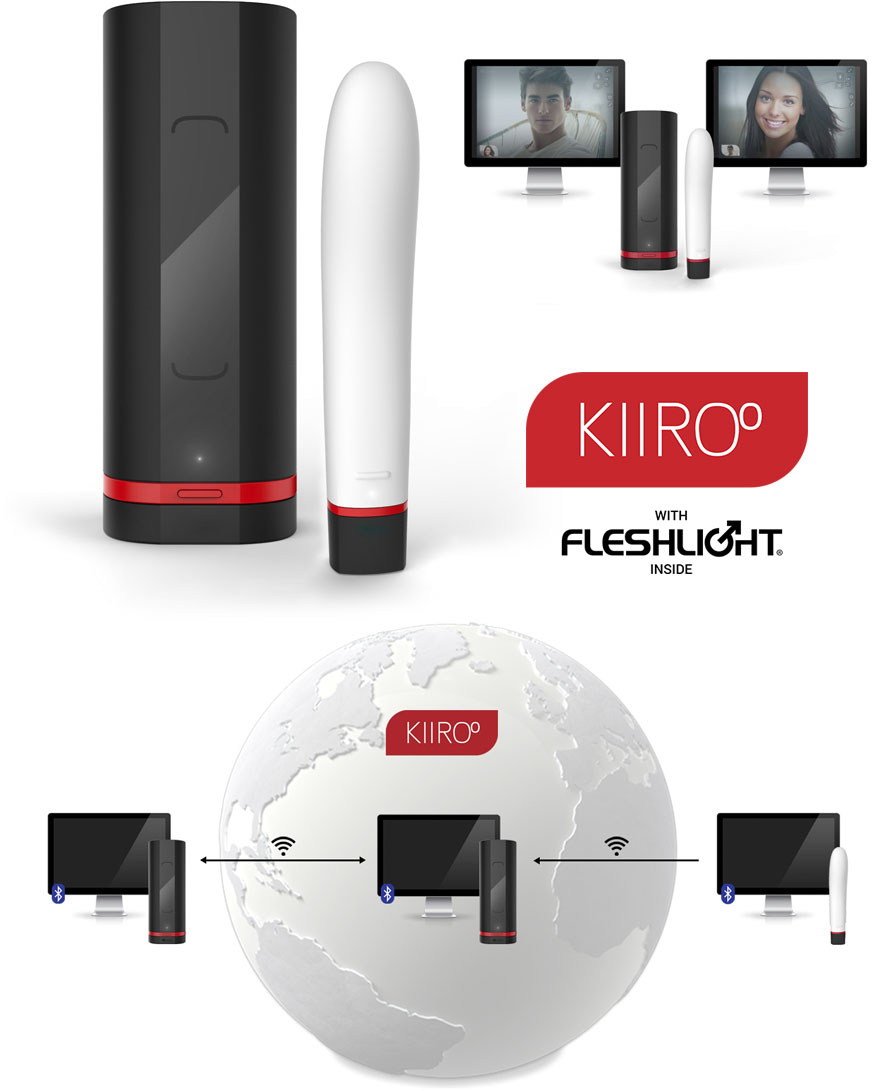 Kiiroo Onyx + Pearl Kit - Teledildonic connected masturbator