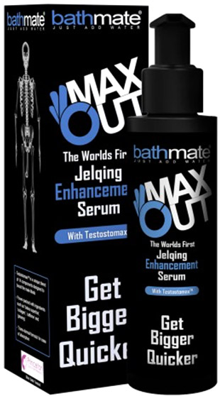Bathmate Jelqing MaxOut penis enlargement serum - 120 ml