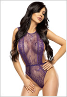 Beauty Night Emiliana Teddy - Violett (L/XL)