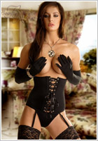 Beauty Night Corset Carmen - Noir (S/M)
