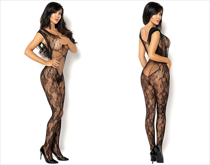 Beauty Night Bodystocking Kiara - Nero (S/L)