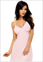 Beauty Night Marcy Chemise & String - Rosa (L/XL)