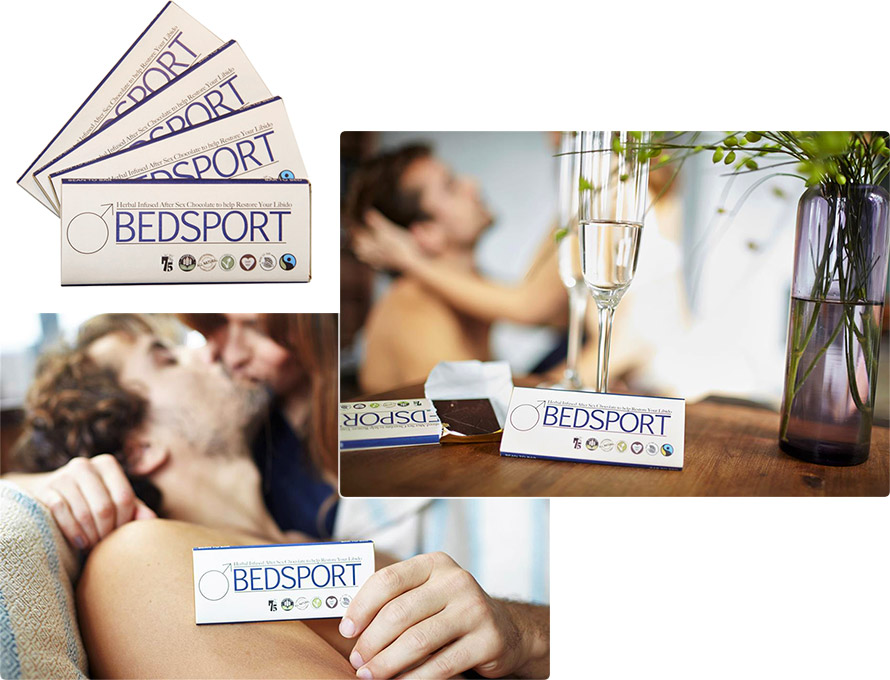 BEDSPORT aphrodisiac Chocolate for men (4 x 35g)