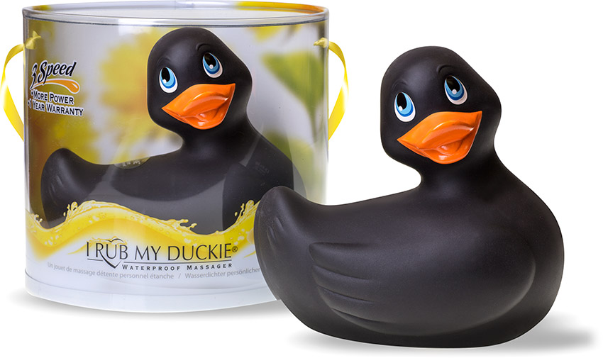 I Rub My Duckie vibrator - Black