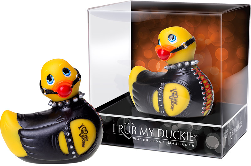 I Rub My Duckie vibrator - Bondage Edition (Mini)