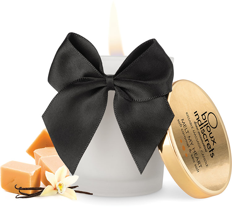Bijoux Indiscrets Massage Candle - Soft Caramel & Sea Salt