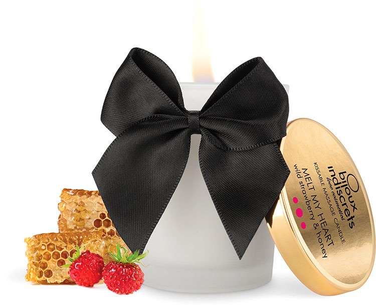 Bijoux Indiscrets Massage Candle - Wild Strawberry & Honey