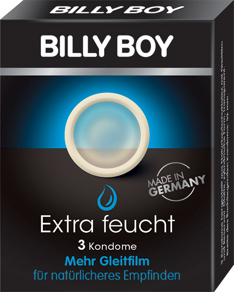Billy Boy Extra Lubricated (3 Condoms)
