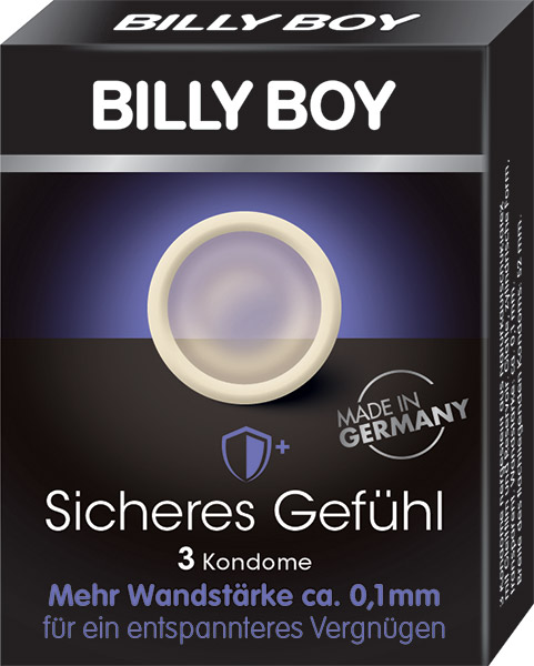 Billy Boy Protection (3 Condoms)