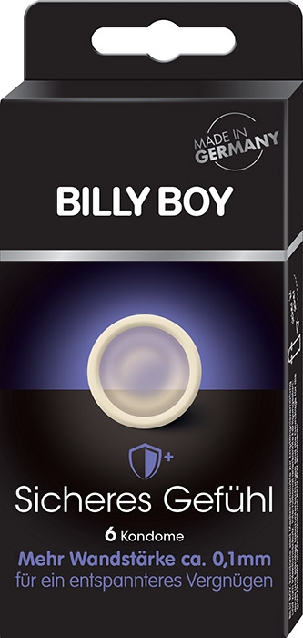 Billy Boy Protection (6 Condoms)