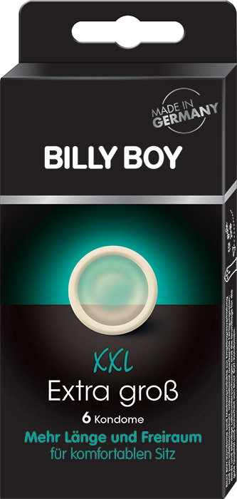 Billy Boy XXL grandi dimensioni (6 preservativi)