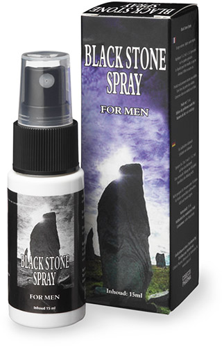 Black Stone Spray - Delay Spray - 15 ml