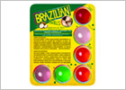 Brazilian Balls Mix flavoured lubricant balls - 6 pieces