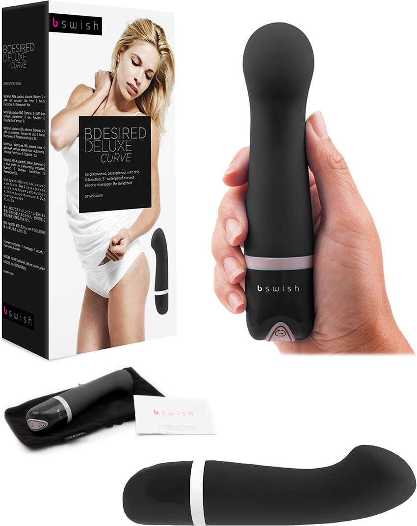 B Swish Bdesired Deluxe Curve Vibrator