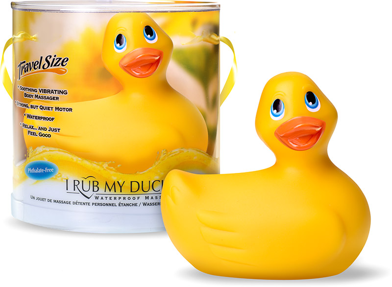 I Rub My Duckie Vibrator - Gelb (Mini)