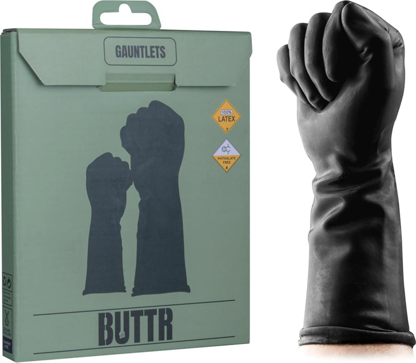 BUTTR Gauntlets latex gloves for fisting