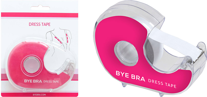 Bye Bra Dress Tape Klebebandspender für das Dekolleté - 3 Meter
