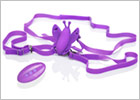 Venus Butterfly vibrating remote-controlled G-String