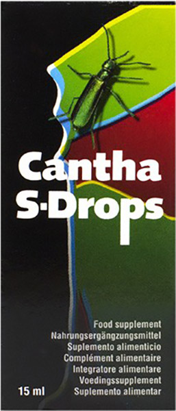 Stimulant sexuel Cantha S-Drops (15 ml)