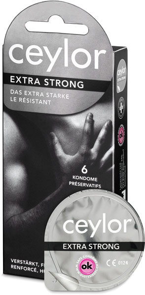Ceylor Extra Strong (6 Kondome)