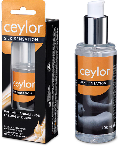 Ceylor Silk Sensation Long-lasting Lubricant - 100 ml (silicone based)