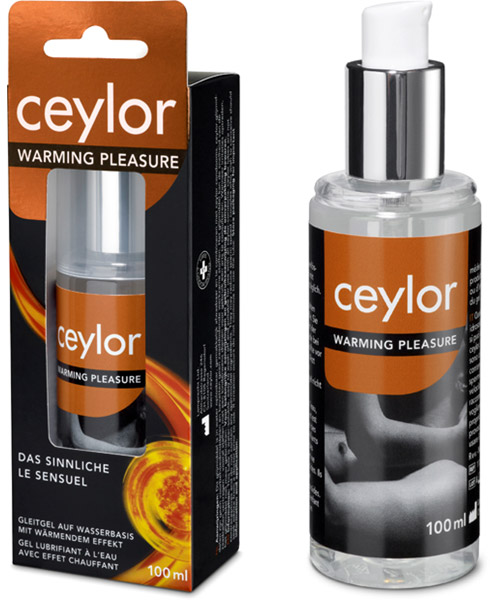 Lubrifiant chauffant Ceylor Warming Pleasure - 100 ml (à base d'eau)