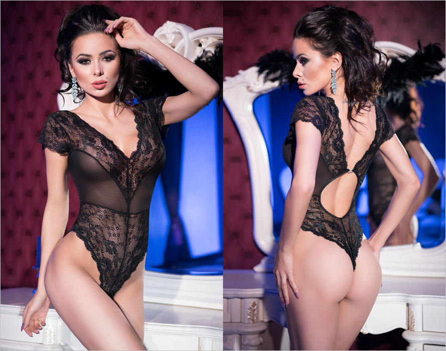 Chilirose Body 4168 - Noir (S)