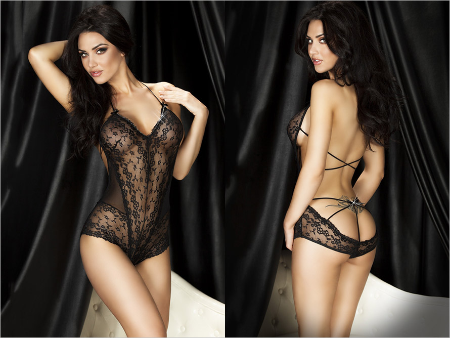 Chilirose 3466 Body - Noir (S/M)