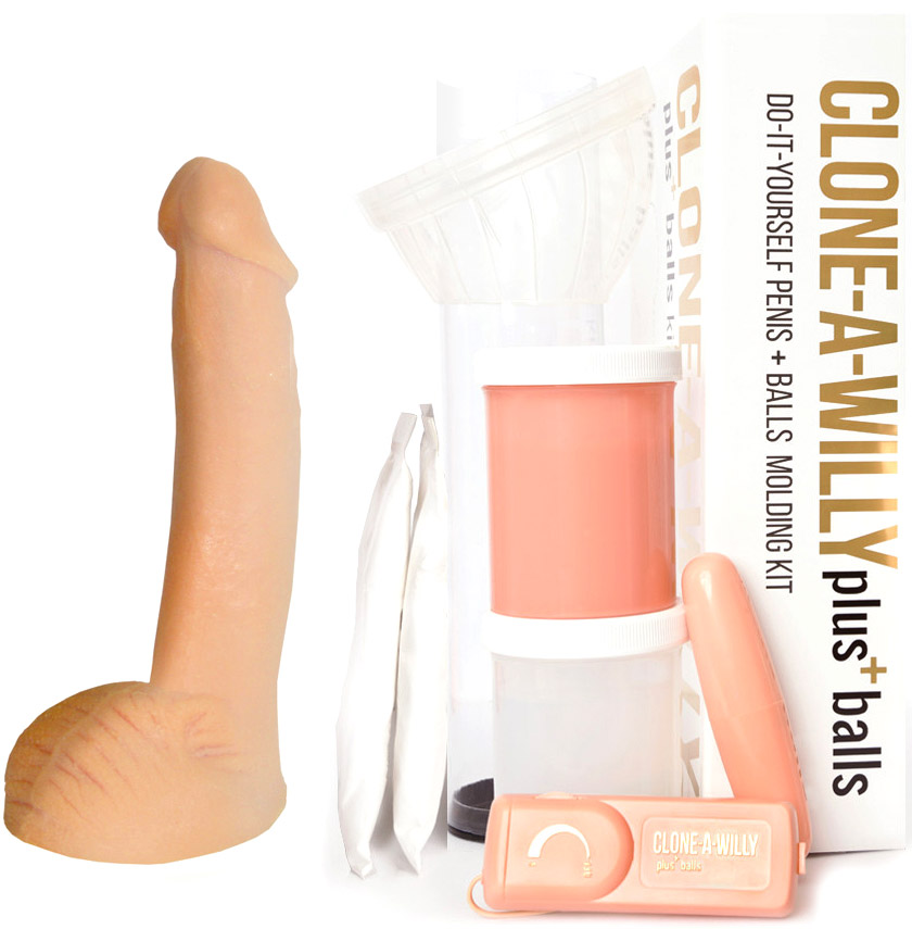 Clone-A-Willy Plus (avec testicules)