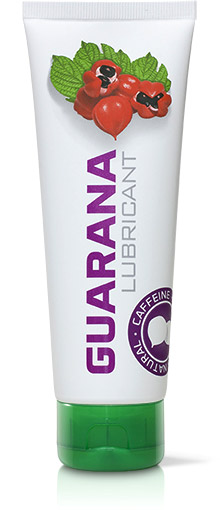 Guarana Lubricant with natural caffeine - 125 ml (water based)