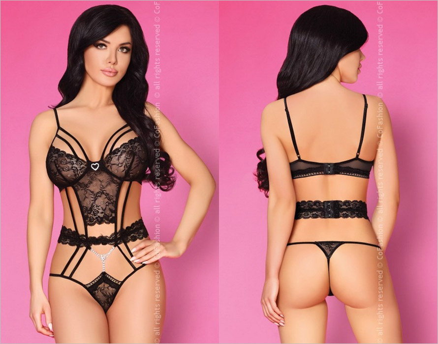 CoFashion Sopheap Body - Schwarz (L/XL)