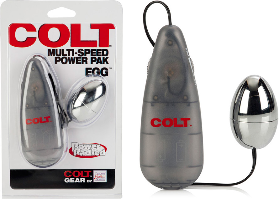 COLT Power Pak Egg remote controlled vibrating egg