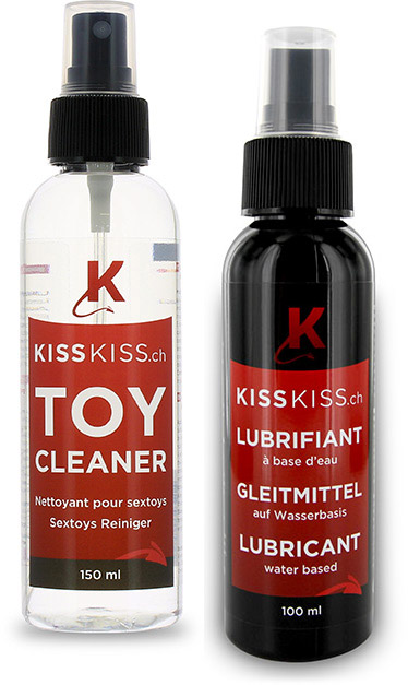 KissKiss.ch Sextoy Cleaner & Lubricant Gel