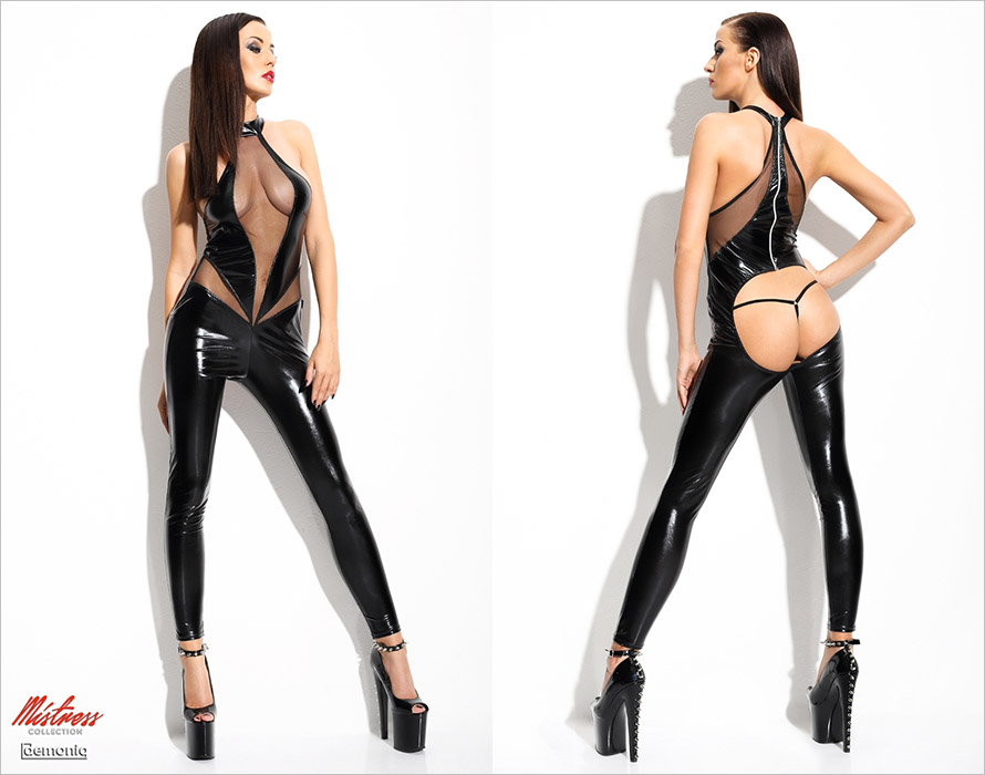 Demoniq Angela provocative & sexy outfit - Black (L/XL)