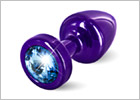 Diogol ANNI Butt Plug - Purple & blue (S)