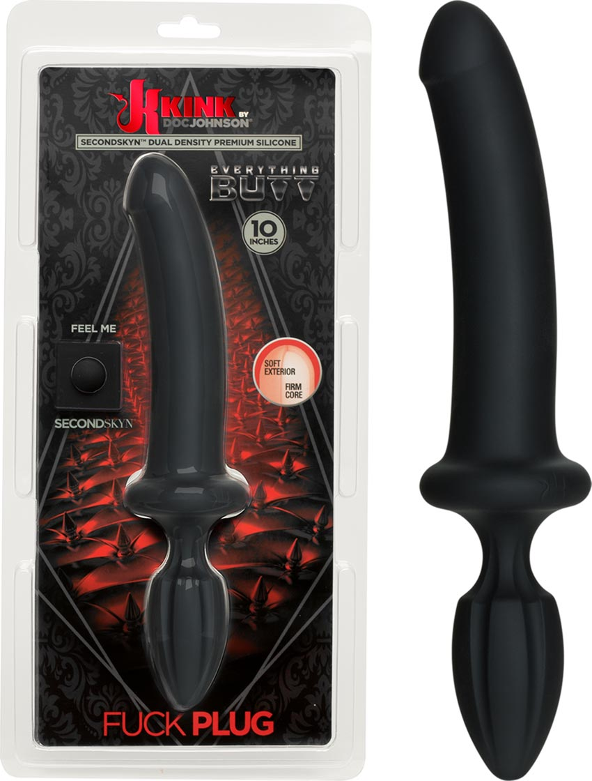 Doc Johnson KINK Fuck Plug Dual Density-Dildo mit Analplug