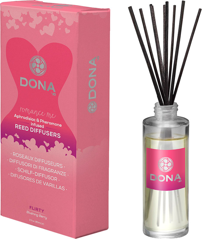 DONA Pheromone infused Reed Diffusers - Flirty