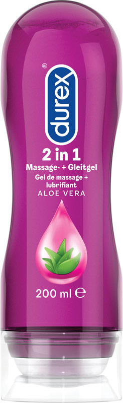 Durex Play Massage 2 in 1 Gel Aloe Vera - 200 ml