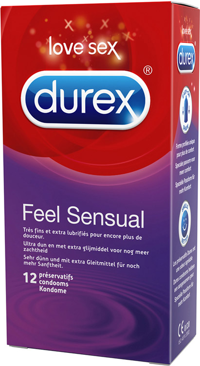 Durex Feel Sensual (12 Condoms)